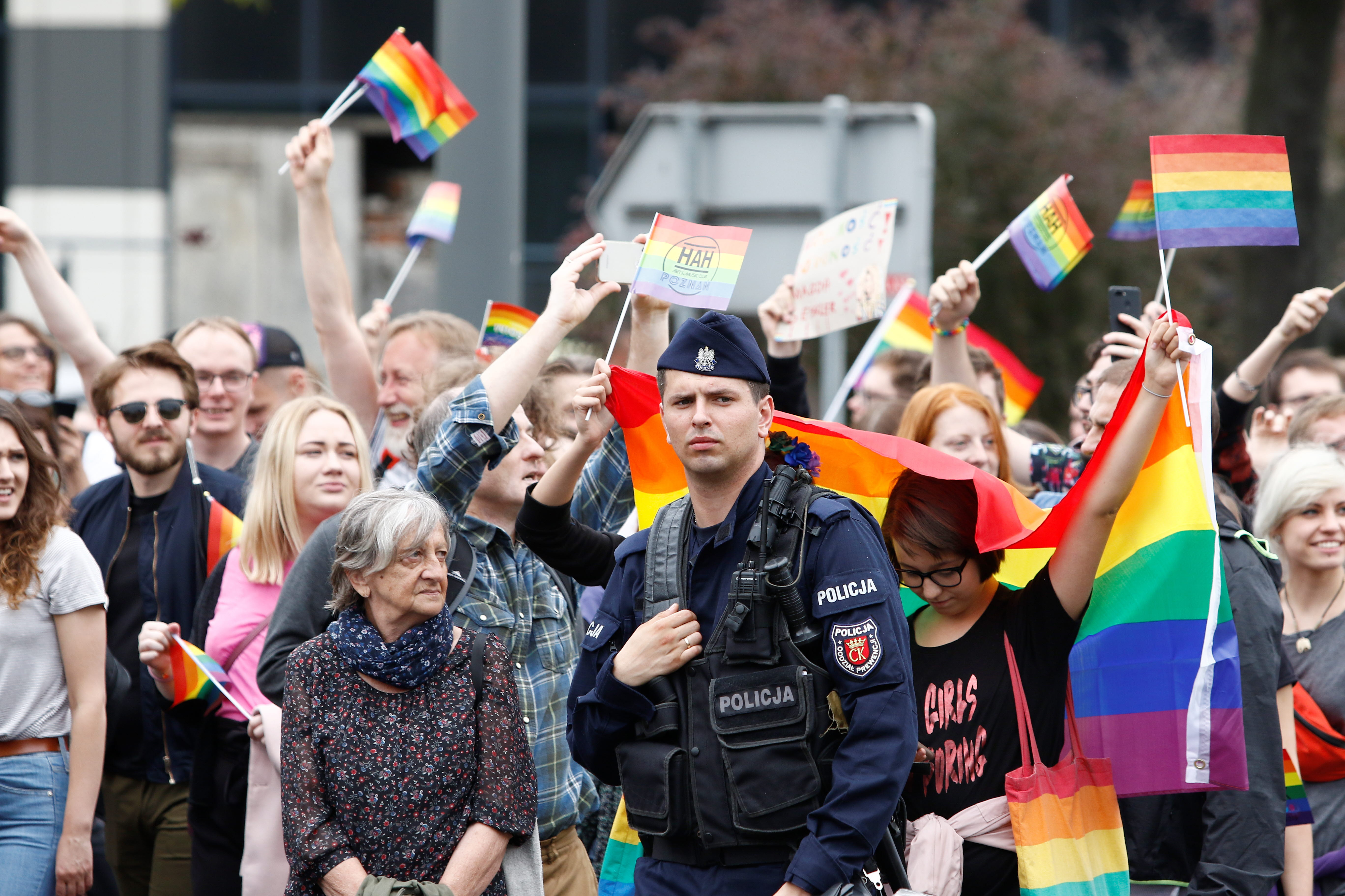 Call for the rights of LGBTI people in Polish municipalities